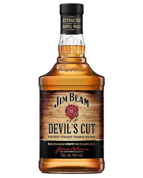 Setzt auf den vom Fass aufgesogenen Whisky: Jim Beam Devil's Cut Kentucky Straight Bourbon Whiskey