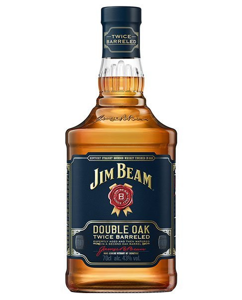 Ein hervorragender Bourbon: Jim Beam Double Oak