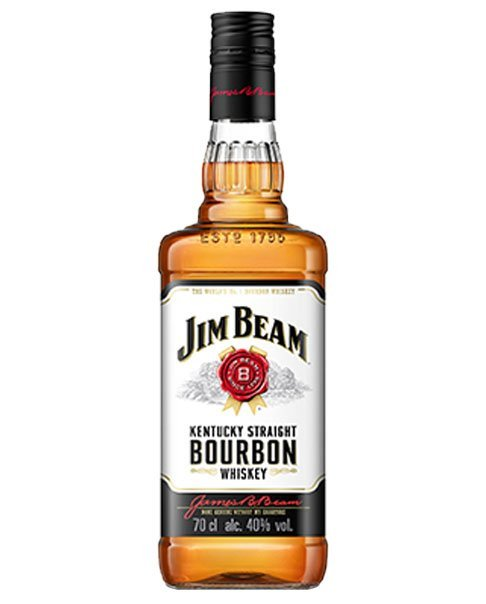 Zeitloser Klassiker: Jim Beam White Label Kentucky Straight Bourbon Whiskey