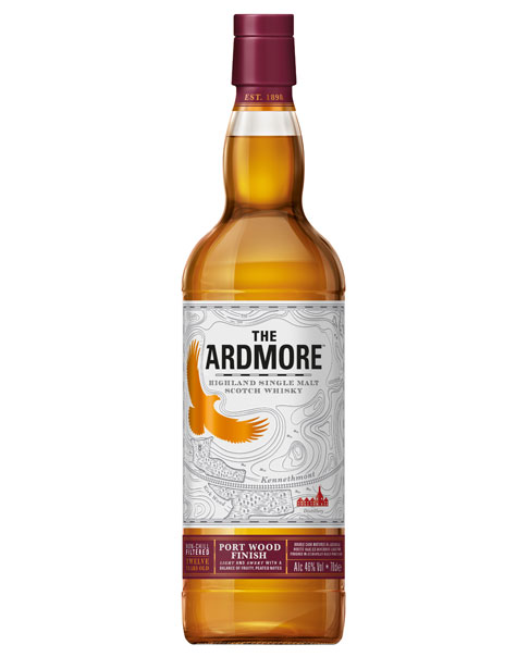 Ein himmlischer 12 Jahre gerifter schottischer Single: Ardmore Port Wood Finish