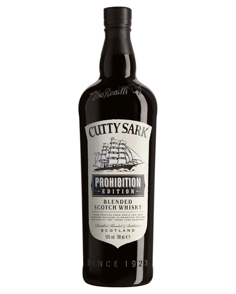 Schottischer Blend: Cutty Sark Prohibition Edition Blended Scotch Whisky