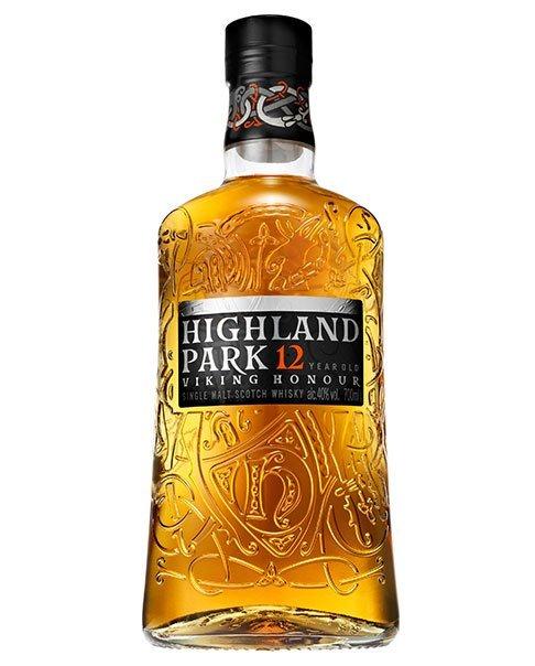 Ein leicht rauchig-torfiger Single Malt Whisky: der Highland Park 12 Years Viking Honor