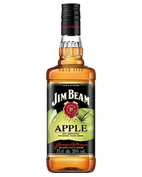Whisky-Likör aus den USA mit Apfelgeschmack: Jim Beam Apple
