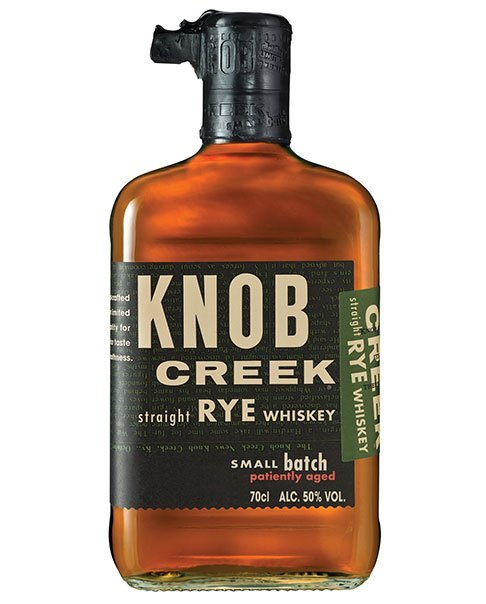 Der einzige, dauerhaft vertretene Roggenwhisky aus Jim Beams Small Batch Collection: Knob Creek Rye Whiskey