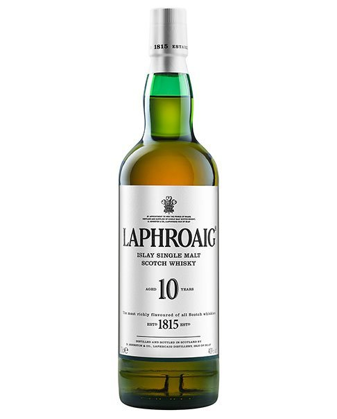 Laphroaig 10 Years Islay Single Malt Scotch Whisky