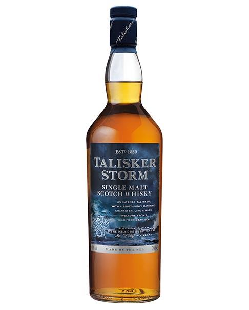 Kräftiger Single Malt Whisky mit rauem Charakter: Talisker Storm