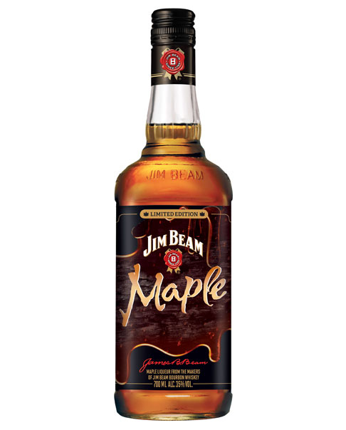 Whisky-Likör mit Ahornsirup Aroma: der Jim Beam Maple