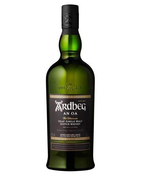 Beliebte Whisky-Standardabfüllung von Ardbeg aus Schottland: Ardbeg An Oa