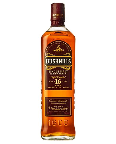 """Reift 16 Jahre in drei Fassarten, woher auch sein Name """"Three Wood"""" stammt: Der Bushmills 16 Single Malt Whisky"""