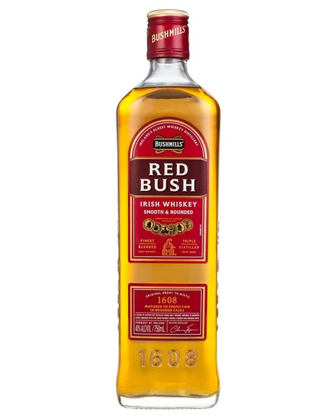 Betont süßer Blended Whisky aus Irland: Bushmills Red Bush