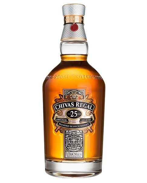 Ein legendärer Blended Scotch Whisky: Chivas Regal 25