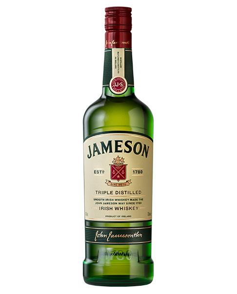 Jameson Triple Distilled Blended Irish Whiskey
