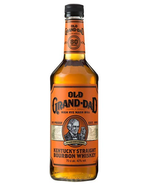 Bourbon mit Basil Hayden Konterfei: Old Grand Dad Whiskey