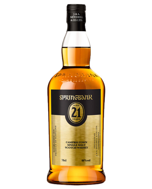 Limitierter Single Malt Whisky aus Campbeltown: Springbank 21 Jahre