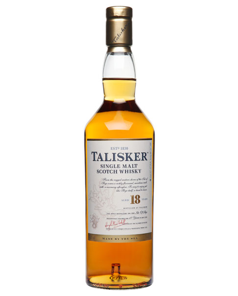 Beliebter Klassiker aus dem Bourbon- und Sherry-Fass: Talisker 18 Jahre Single Malt Scotch Whisky