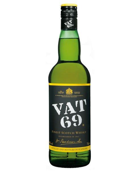 Seit 1882 beliebter Blended Scotch Whisky: VAT 69