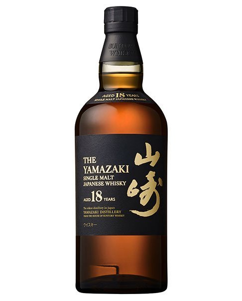 Premium Single Malt Whisky aus Japan in Flasche: Suntory Whisky The Yamazaki Aged 18 Years Single Malt Whisky 18 Jahre