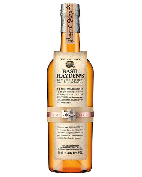Small Batch Whisky aus den USA: Basil Hayden's Bourbon Whiskey