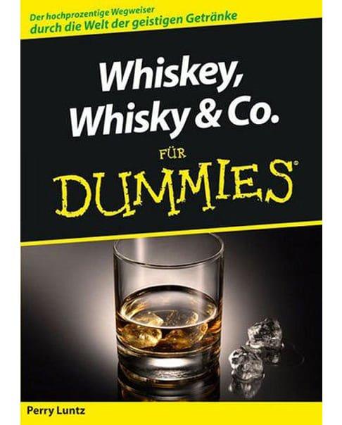 """Cover des Buches """"Whisky, Whiskey & Co. für Dummies""""von Perry Luntz"""