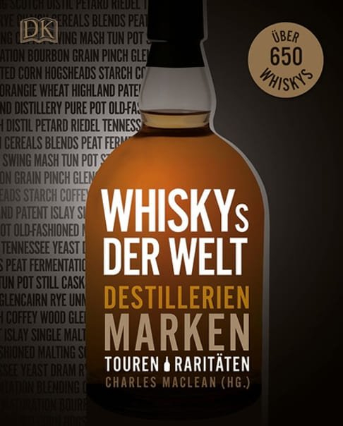 """Buchcover von """"Whiskys der Welt - Destillerien, Marken, Touren, Raritäten"""""""