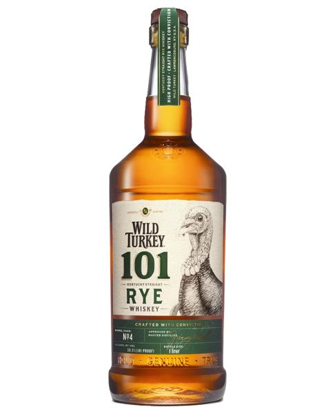 Roggenwhisky aus den USA: Wild Turkey 101 Rye Whiskey