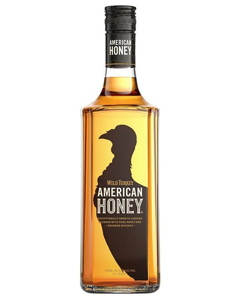 Süßer Whisky-Likör mit Honigaromen: Wild Turkey American Honey