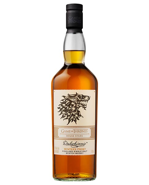 Dalwhinnie Winter's Frost: Diese streng limitierte Single Malt Whisky Sonderabfüllung wurde exklusiv für die finale Game of Thrones Staffel im Winter destilliert.