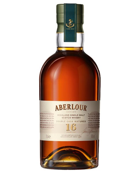 Reift 16 Jahre im Bourbon- und im Sherry-Fass: Aberlour 16 Double Cask Highland Single Malt Scotch Whisky