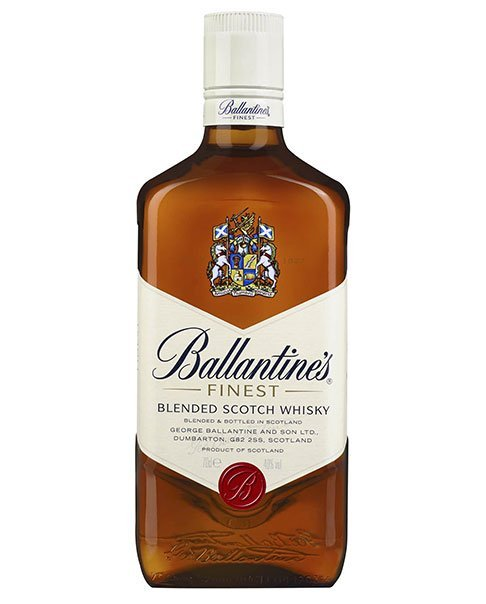 Ein Klassiker aus Schottland: Ballantines-Finest Blended Scotch Whisky