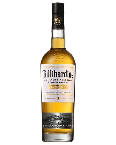 Reift in Bourbon-Fässern: Tullibardine Sovereign Highland Single Malt Scotch Whisky