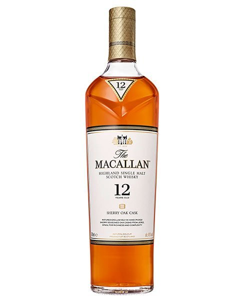In spanischen Sherry-Fässern gereift: Macallan 12 Sherry Oak Cask Single Malt Whisky