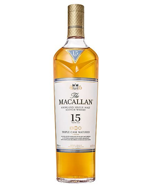 Nachfolger des Macallan 15 Fine Oak: Macallan 15 Triple Cask Highland Single Malt Scotch Whisky