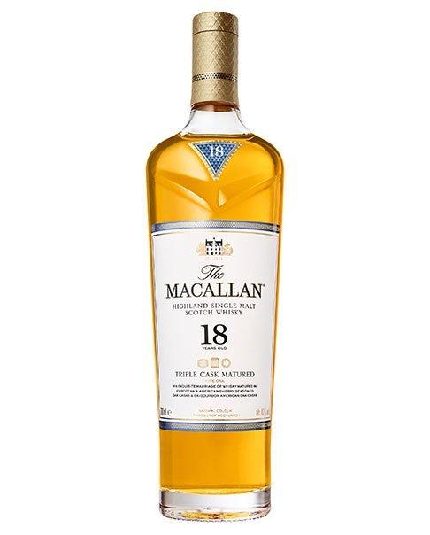 Beliebter Single Malt aus Schottland: Macallan 18 Triple Cask