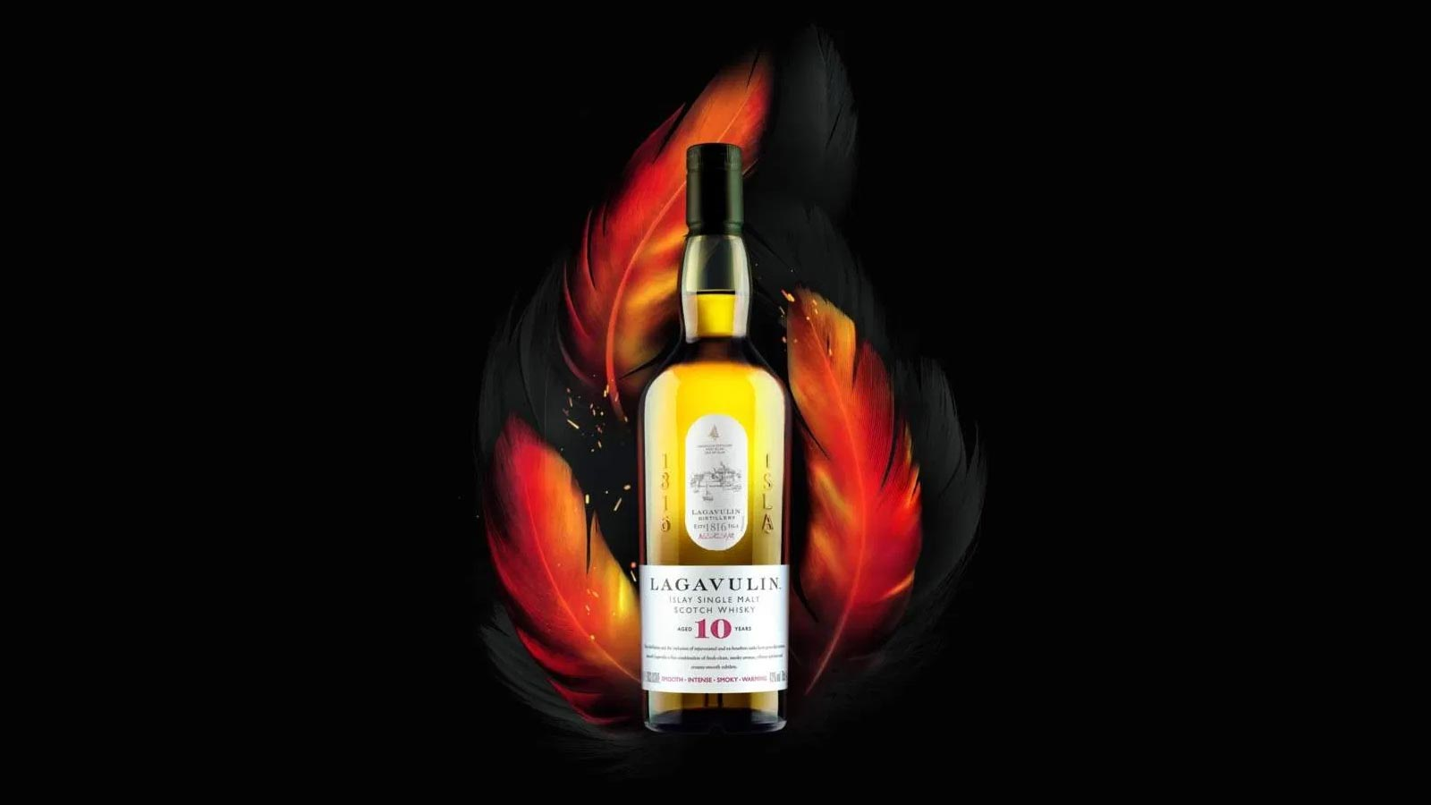 Die neueste Kreation: Lagavulin 10 Year Old Islay Single Malt Scotch Whisky