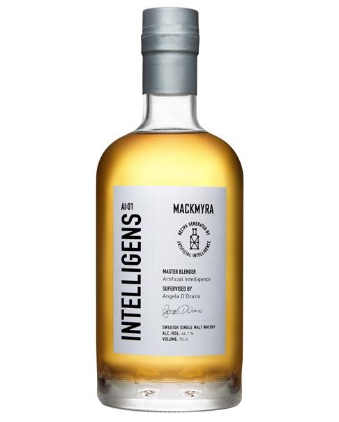 Von Künstlicher Intelligenz (KI) entwickelter Whisky: Mackmyra Intelligens Swdish Single Malt Whisky