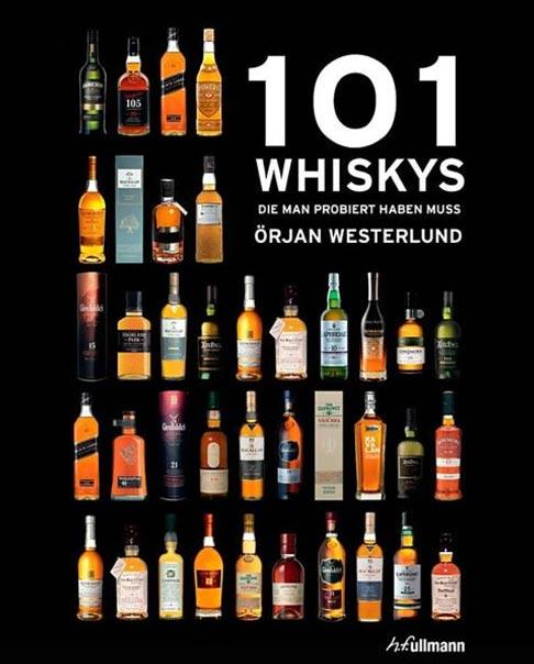 Buchcover: 101 Whiskys die man probiert haben muss