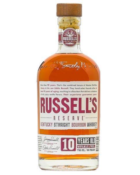 Aus 90 Jahren Erfahrung entstandener Small Batch Bourbon Whiskey: Russell's Reserve 10