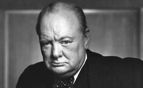 Einer der berühmtesten Whisky-Trinker: Sir Winston Churchill