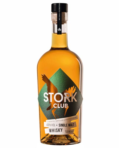 Vollmundig süffiger Single Malt aus Deutschland: Stork Club Single Malt Whisky