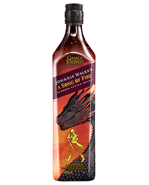 Beliebt bei Game of Thrones Fans: Johnnie Walker Song of Fire Blended Whisky