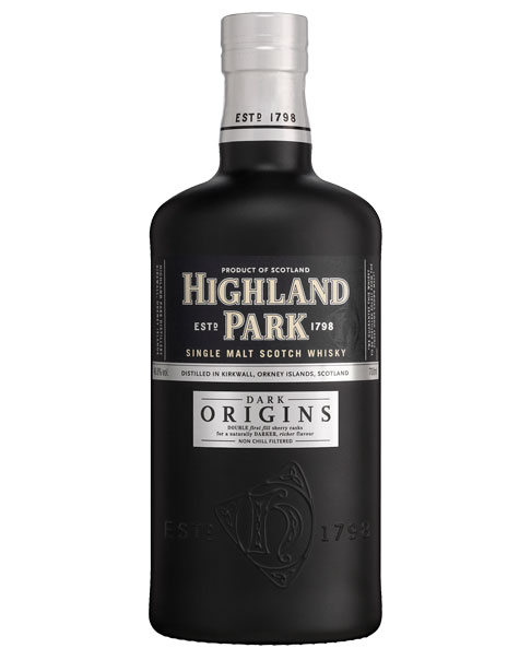 Sherry-gereifter Whisky aus Schottland: Highland Park Dark Origins Single Malt Scotch Whisky