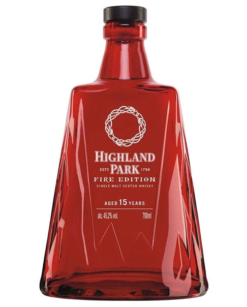 Streng limitierte Sonderabfüllung: Highland Park Fire Edition Single Malt Scotch Whisky