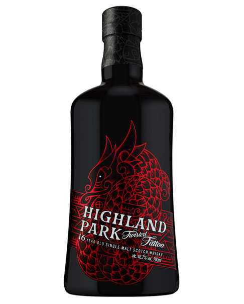 Im Rioja- und Bourbon-Fass gereift: Highland Park Twisted Tattoo Single Malt Scotch Whisky