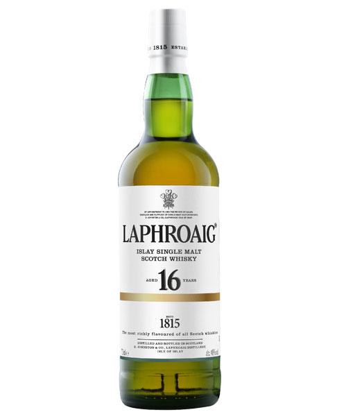 Rauchig, weicher Islay Whisky mit mit süßen Vanillenoten: Laphroaig 16