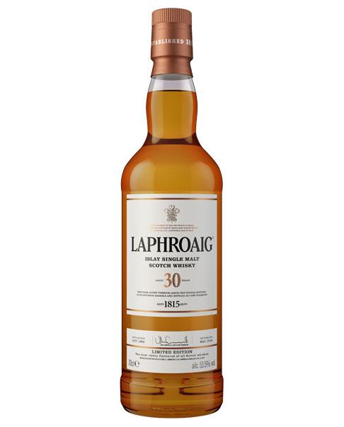 Seltener und limitierter Premium-Whisky: Laphroaig 30 Islay Single Malt Scotch Whisky