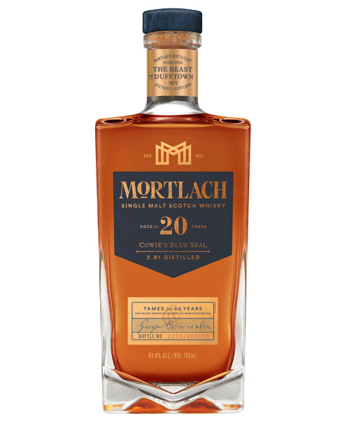 "20 Jahre gereiftes ""Beast of Dufftown"": Mortlach 20 Cowie's Blue Seal"
