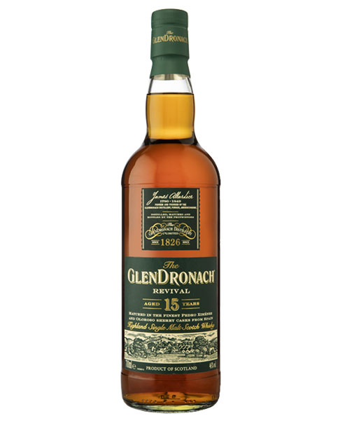 2018 neu aufgelegter Whisky: Glendronach 15 Revival Highland Single Malt Scotch Whisky