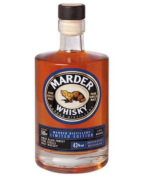 Geheimtipp aus dem Schwarzwald: Marder Whisky Finest Black Forest Pure Single Malt Whisky