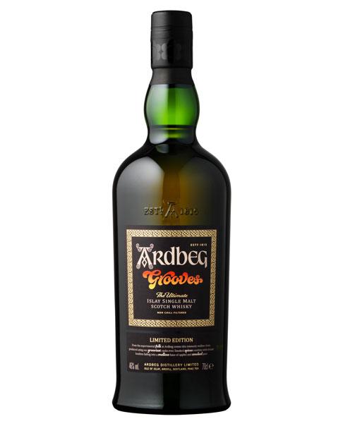 Limitierter Single Malt Whisky mit kräftigem Rauch und 1960er Style: Ardbeg Grooves Limited Edition