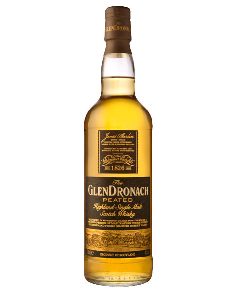 Whisky mit rauchigen Aromen dank getorftem Malz: Glendronach Peated
